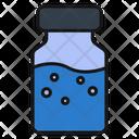 Vaccine Bottle Medical Icon