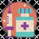 Medical Checkup Flat Icon Sets Icon