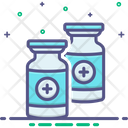 Vaccine Corona Disinfectant Icon