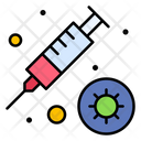 Vaccine Infection Injection Icon