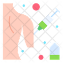Vaccine Injection Body Icon