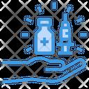 Vaccine Injection Medicine Icon