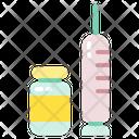 Vaccine Protocol Syringe Icon