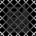 Linear Icon Vaccine Icon
