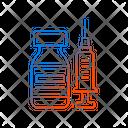 Vaccine Bottle Icon