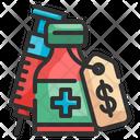 Vaccine Cost Icon