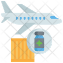 Vaccine Delivery Logistic Delivery Icon