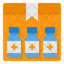 Vaccine Delivery Box Product Doses Icon