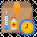 Vaccine Expiry Date Icon