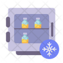 Vaccine Refrigerator Refrigerated Icon