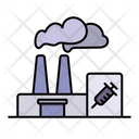 Factory Industry Vaccine Icon