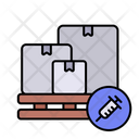 Vaccine Delivery Package Icon
