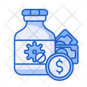 Vaccine Virus Price Icon