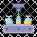 Vaccine Production Manufacture Icon