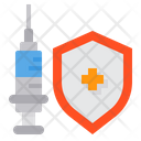 Vaccine Protection Vaccine Syring Icon