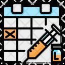 Vaccine Scheduled Icon