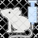Vaccine Laboratory Syringe Icon
