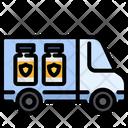 Vaccine Transportation Icon