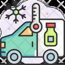 Vaccine Van Icon