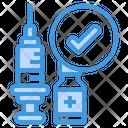 Vaccine Verification Vaccine Verification Icon