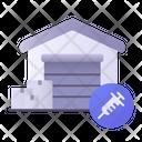 Vaccine Warehouse Icon