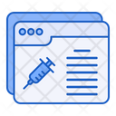 Vaccine Web Information Icon