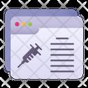 Vaccine Website Icon