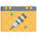 Vaccines Appointment Syringe Insulin Icon