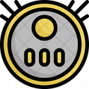 Vacuum Machine Robot Icon