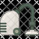 Vacuum Cleaner Hoover Vacuuming Floor Icon