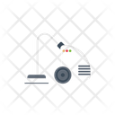 Vacuum Cleaner Home Icon
