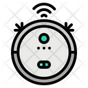 Vacuum Robot Cleaner Icon