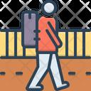 Vagrant Strolling Rangy Icon