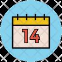 Valentine Day Fourteen Icon