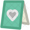 Valentine Day Table Icon