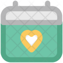 Valentine Day Heart Icon