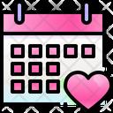 Valentine Wedding Love Icon
