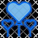 Valentine Balloon Love Icon