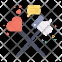 Valentine Social Media Icon