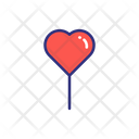Valentine Balloon Icon