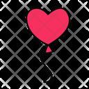 Valentine Balloon Balloon Celebration Icon