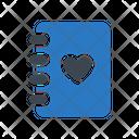 Valentine Book Icon