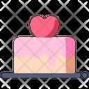 Valentine Cake Icon
