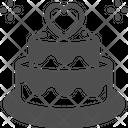 Cake Wedding Cake Valentine Cake Icon