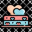 Cake Valentine Love Icon