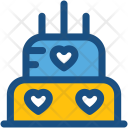 Cake Sweet Party Icon