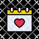 Love Dating Valentine Icon