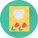 Valentine Card Greeting Icon