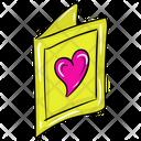 Valentine Card Valentine Greeting Valentine Wishes Icon