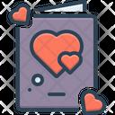 Valentine Card Card Love Icon